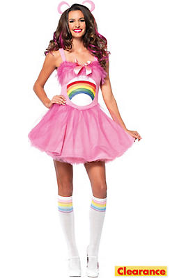 Adult Cheer Bear Costume - Care Bears