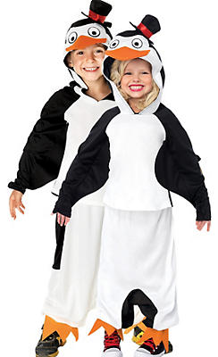 Child Skipper the Penguin Costume - Madagascar