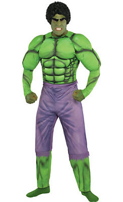 Adult Hulk Muscle Costume Classic