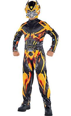 Boys Bumblebee Costume - Transformers 4
