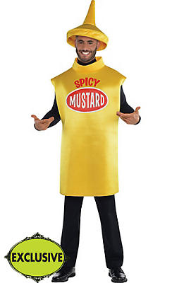 Adult Spicy Mustard Costume