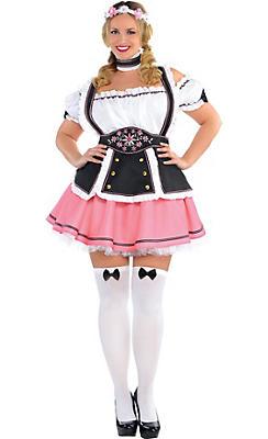 Adult Oktobermiss Beer Maid Costume Plus Size