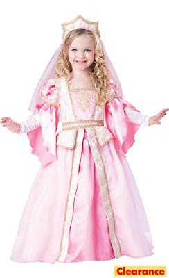 Toddler Girls Medieval Princess Costume