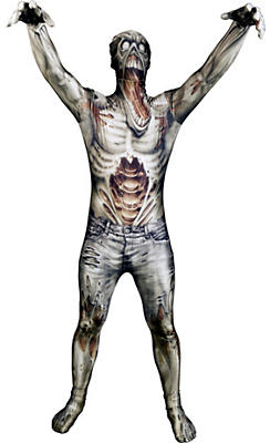 Adult Zombie Monster Morphsuit