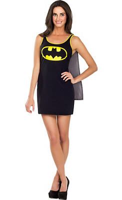 Adult Batgirl Tank Dress - Batman
