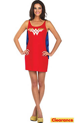Adult Wonder Woman Tank Dress