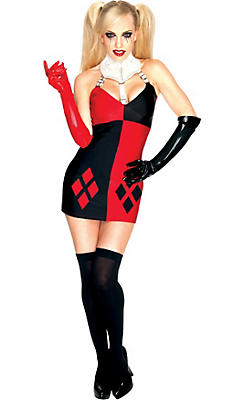 Adult Sexy Harley Quinn Costume - Batman