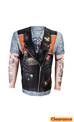 Adult Biker T-Shirt