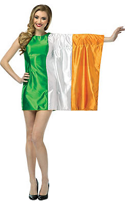 Adult Irish Flag Dress