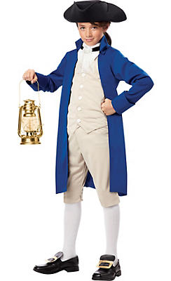 Boys Paul Revere Colonial Costume