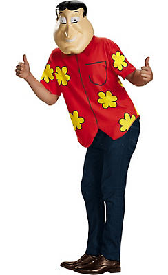Adult Quagmire Costume Deluxe - Family Guy