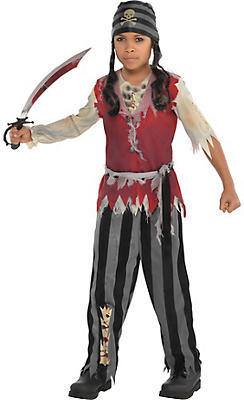 Boys Corpse Pirate Costume