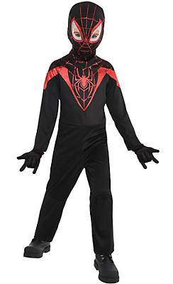 Little Boys Miles Morales Costume - Spider-Man