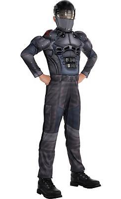 Boys Snake Eyes Muscle Costume - G.I. Joe