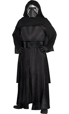 Adult Kylo Ren Costume Plus Size Deluxe - Star Wars 7 The Force Awakens