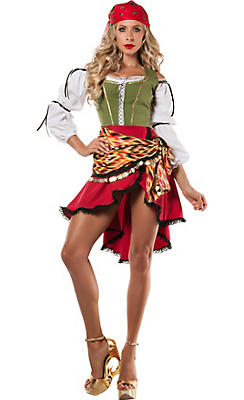 Adult Sexy Gypsy Costume