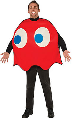 Adult Blinky Red Ghost Costume - Pac-Man