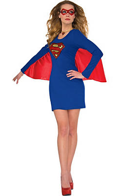 Supergirl Cape Dress