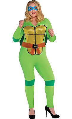 Adult Sexy Teenage Mutant Ninja Turtles Costume Plus Size