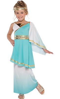 Little Girls Goddess Venus Costume