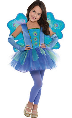 Toddler Girls Princess Peacock Costume