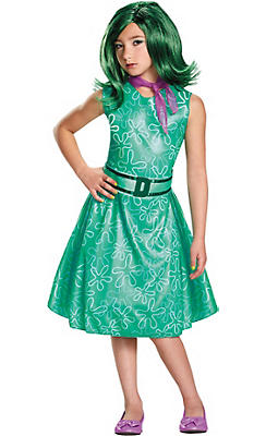 Girls Disgust Costume Classic - Inside Out