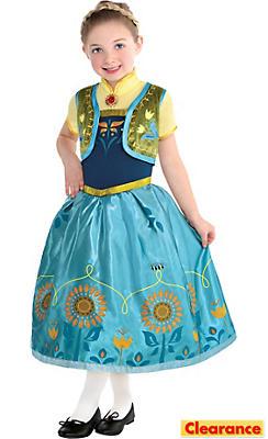 Toddler Girls Anna Costume Supreme - Frozen Fever