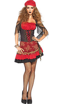 Adult Mystic Vixen Gypsy Costume