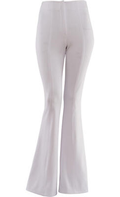 White 70s Disco Pants