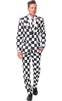 Adult Checkered Suit
