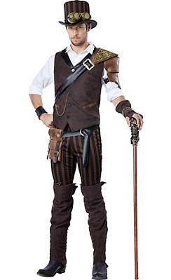 Adult Adventurer Steampunk Costume