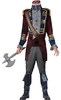 Adult Headless Horseman Costume Deluxe - Sleepy Hollow