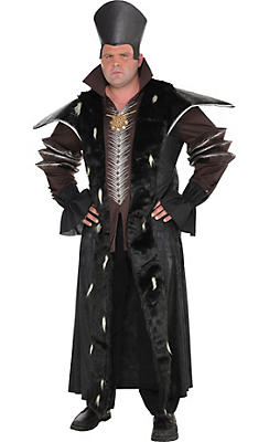 Adult Time Costume Plus Size - Alice Through the Looking Glass