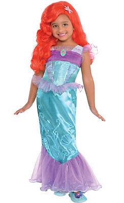 Toddler Girls Ariel Costume - The Little Mermaid