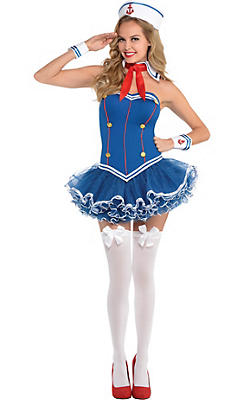 Adult Dreamboat Sailor Costume