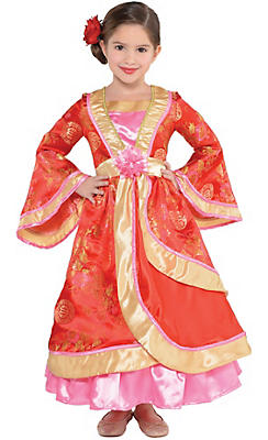 Toddler Girls Geisha Costume