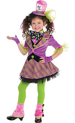 Toddler Girls Mad Hatter Costume