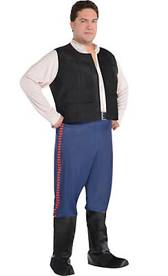 Adult Han Solo Costume Plus Size - Star Wars