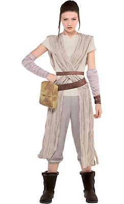 Adult Rey Costume - Star Wars 7 The Force Awakens