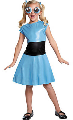 Girls Bubbles Costume - The Powerpuff Girls