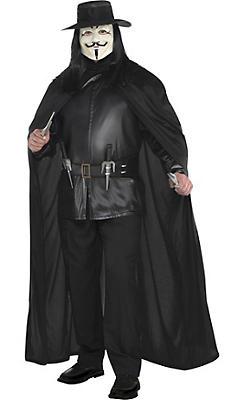 Adult V Costume Plus Size - V for Vendetta