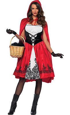 Adult Classic Red Riding Hood Costume