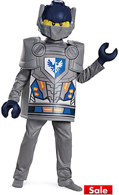 Boys Clay Costume - Lego Nexo Knights