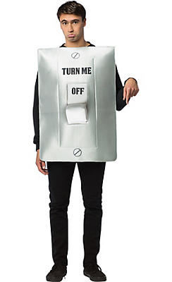 Adult Turn Me On Light Switch Costume