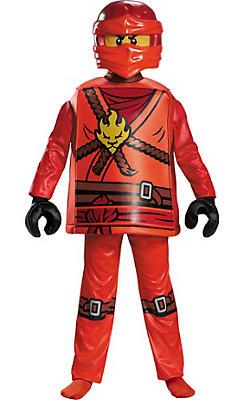 Boys Kai Costume - Lego Ninjago
