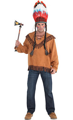 Adult Native American Costume