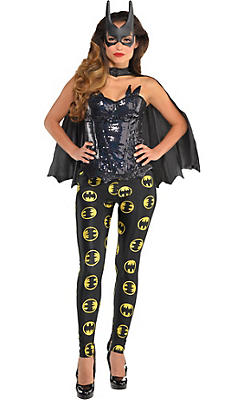 Adult Batgirl Costume Deluxe - Batman