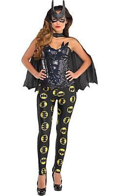 Adult Batgirl Costume Deluxe - Batman