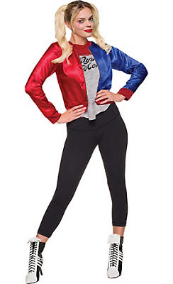Adult Harley Quinn Costume Deluxe - Suicide Squad