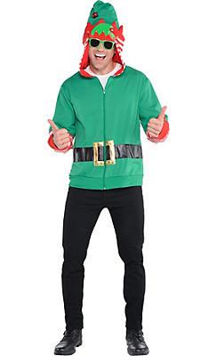 Adult Elf Hoodie Costume
